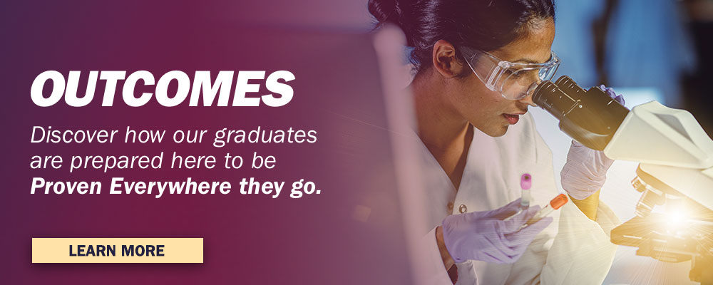 Discover how our graduates are prepared here to be Proven Everywhere they go
