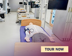 tour the continuum of care simulation suite
