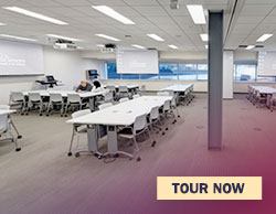 Tour the team-based learning room