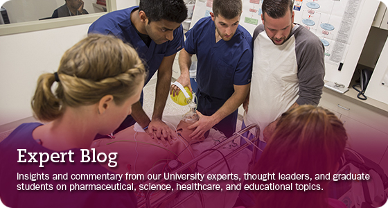 Insights and commentary from our University experts, thought leaders, and graduate students on pharmaceutical, science, healthcare, and educational topics.