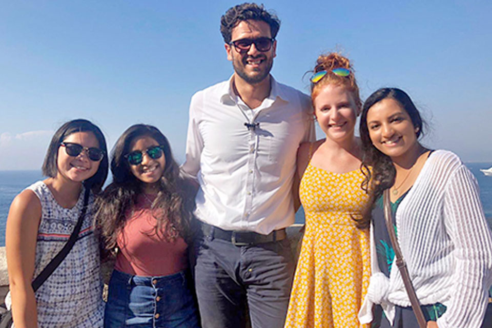 In Italy, USciences Students Experience a Foreign Healthcare System